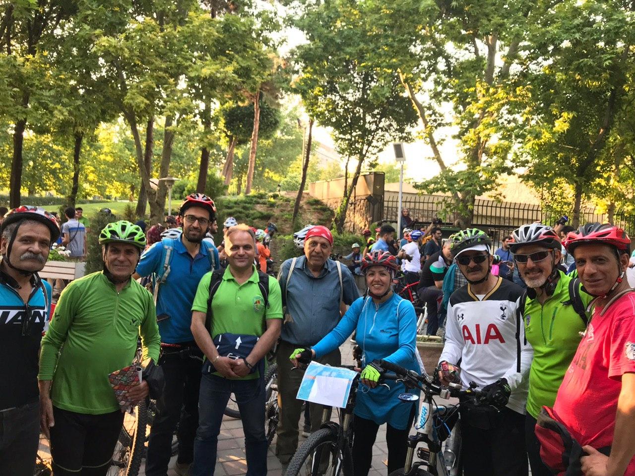 آیین روز جهانی دوچرخه سواری برگزارشد