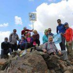 گزارش پیمایش قله بلقیس با سعید صبور