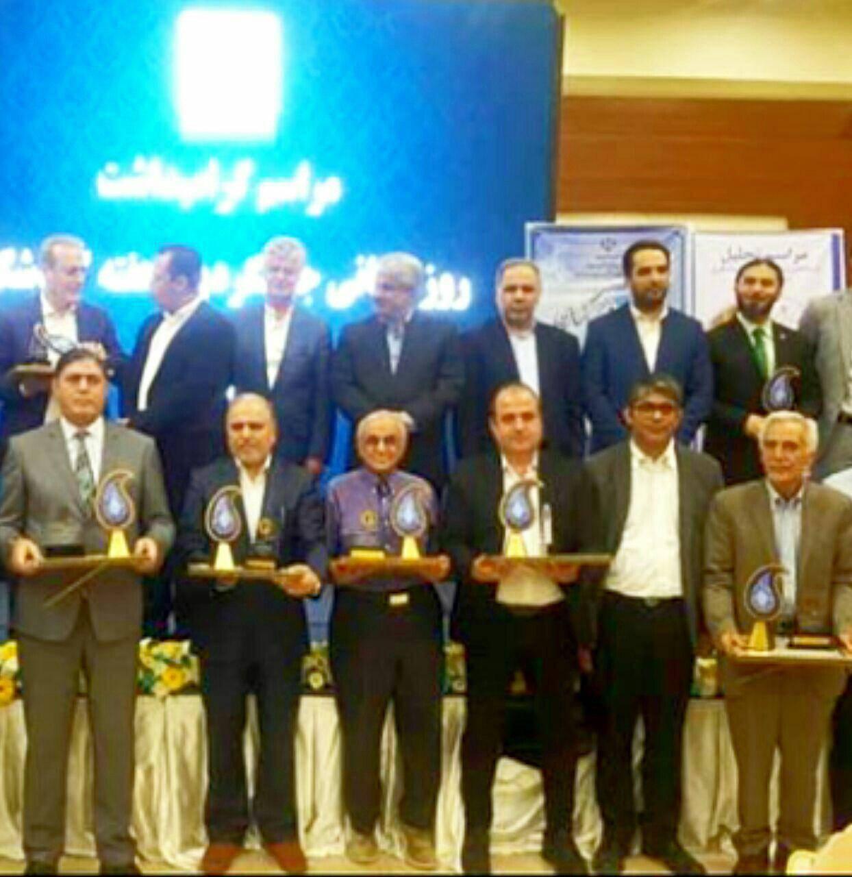 شادباش به مدیران شرکت های گردشگری اسپیلت البرز و دروازه سرزمین آرین