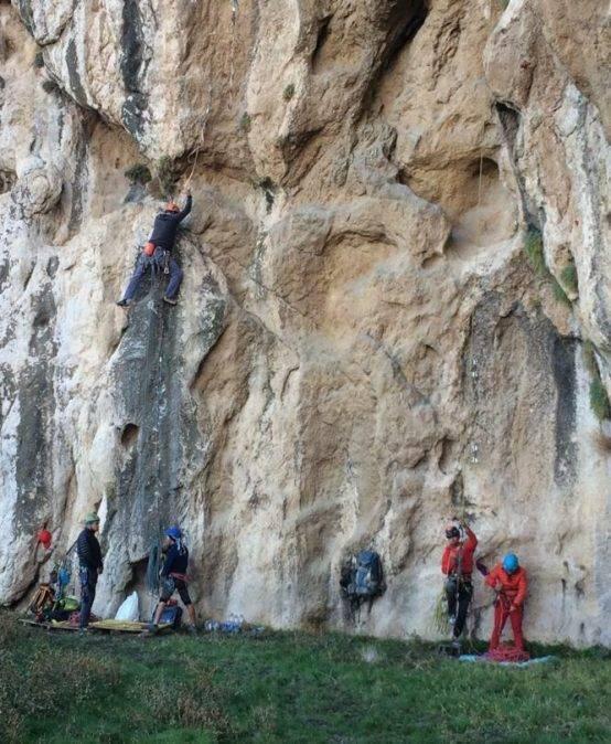 جشنواره گشایش مسیر سنگنوردی در فیروزکوه برگزارشد