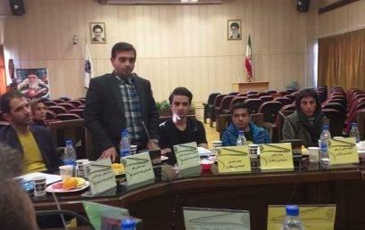 آقای اسماعیل اسماعیل زاده  به ریاست هیات تهران برگزیده شد