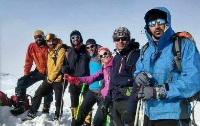 صعود به قله گیزنو