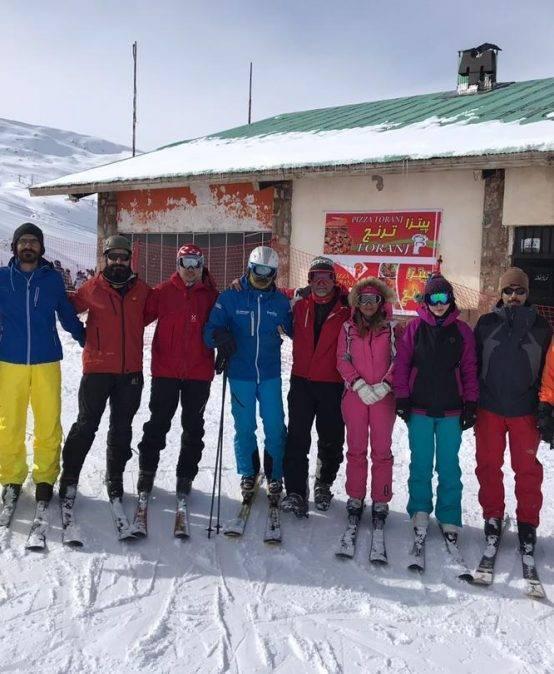 گزارش نخستین اردوی آموزشی اسکی باشگاه