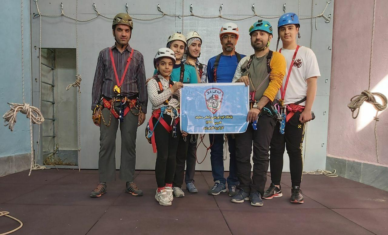 گزارش برنامه کارگاه آموزشی تکنیکهای غارنوردی
