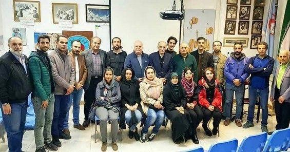 گزارشی از نشست دوشنبه ۲۱ بهمن باشگاه دماوند