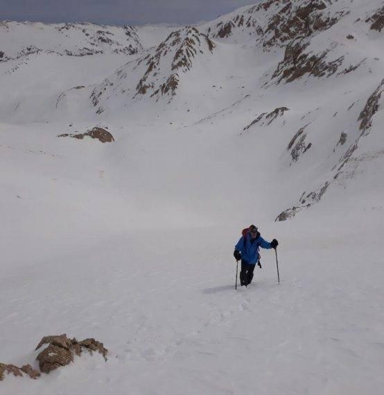 گزارش برنامه صعود زمستانی قلل دوخواهران از یال شمالی