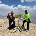 گزارش برنامه پیمایش چکاد قالی کوه