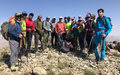 گزارش صعود به قله ورزاب