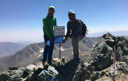 پیمایش خط الراس کلون بستک به قله برج