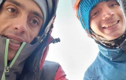 گزارش پیمایش راه  احسان در دیواره علم کوه با قاسم بلبلی