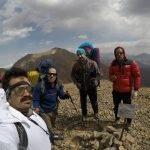 گزارش شایان پوستی ازپیمایش چکادگذر زرین کوه به لشگرک بزرگ در منطقه تخت سلیمان