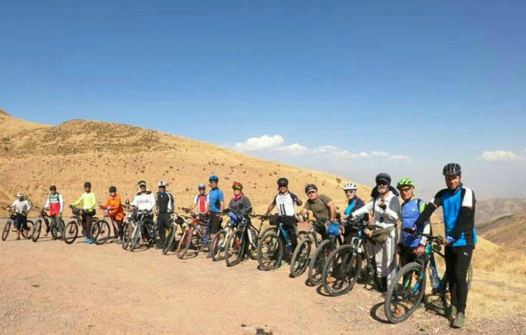 گزارش برنامه دوچرخه کوهستان از باراجین قزوین به رحیم آباد املش گیلان