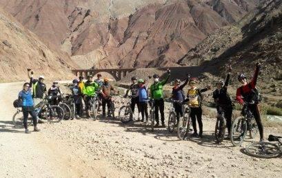گزارش برنامه دوچرخه سواری از بنکوه به حصاربن