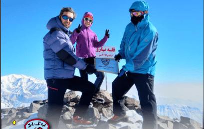 صعود قله چشمه شاهی (بارو)